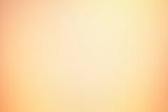Gradient orange brouillé de fond bon Photo libre de droits