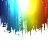 Gradient paint splashes background Stock Images