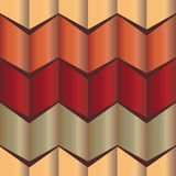 The gradient pattern zigzag shape Stock Photo