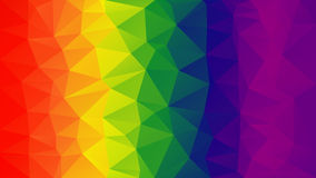 Gradient polygon background.  The spectral pattern. Stock Photography