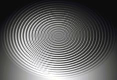 Gradient ripples. Black and white digital gradient ripples Royalty Free Stock Photo