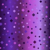 Gradient rounded diamond pattern. Seamless vector background Royalty Free Stock Image