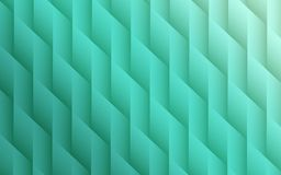 Gradient seafoam green colors geometric lines angles abstract background design. Elegant abstract fractal background design featuring smooth geometric lines and Stock Images