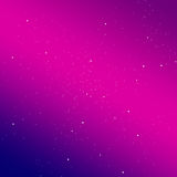 Gradient sky with stars background. Stylish solution for your design Stock Photography