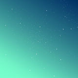 Gradient sky with stars background. Stylish solution for your design Royalty Free Stock Images