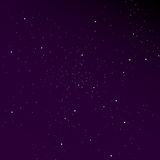 Gradient sky with stars background. Stylish solution for your design Stock Image
