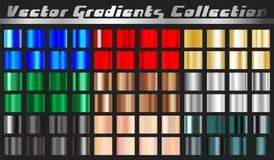 Gradient square set stock illustration