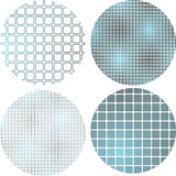 Gradient squares pattern Stock Photo