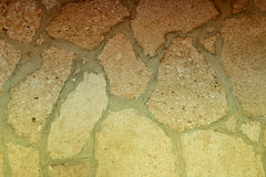 Gradient of stone wall. Gradient background of stone wall, golden color Stock Photos