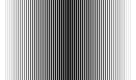 Black and white gradient stripes. Gradient thick and thin black and white stripes Stock Photos