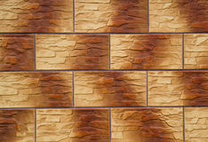 Gradient tile. In the form of bricks Royalty Free Stock Photos