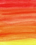 Gradient watercolor background in warm colors royalty free stock photos