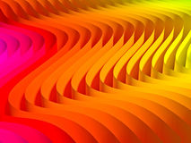Gradient waved background Stock Photos