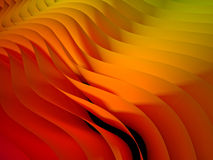 Gradient waved background Royalty Free Stock Photography