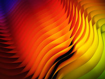 Gradient waved background Stock Images
