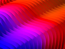 Gradient waved background Stock Image