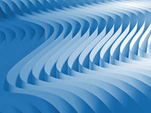 Gradient waved background Stock Photography