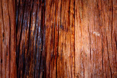 Gradient on woodden sheet Royalty Free Stock Images