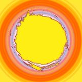 Gradiente circular amarillo Libre Illustration