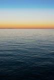 Gradiente del mar foto de archivo
