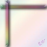 Gradiente en colores pastel rosado Stock de ilustración