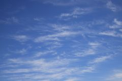 Gradiente in the sky, a marvelous view. stock photos