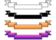 gradiented bandvektor vektor illustrationer