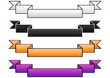 gradiented bandvektor royaltyfri illustrationer