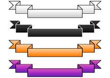 gradiented bandvektor Arkivfoto
