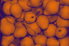 Gradiented purple-orange pear background Royalty Free Stock Image
