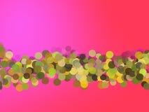 gradientowe głównych atrakcj gradientowe menchie royalty ilustracja