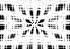 Gradientowy halftone kropkuje tło Wystrzał sztuki szablon, tekstura Ve ilustracja wektor