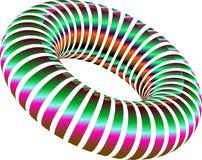 Gradients doughnut effects graphic design vector illustration