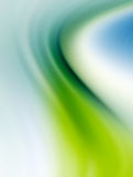 Gradients Waves. Blue and green. Background and Illustration Royalty Free Stock Photography