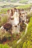 Gradina Zmeilor (der Garten des Drachen) Stockbild
