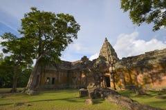Gradino di Prasat Phanom Fotografia Stock Libera da Diritti