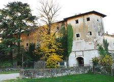 Gradisca d'Isonzo kasztel Zdjęcia Stock