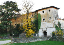 Gradisca-d'Isonzo Schloss Stockfotos