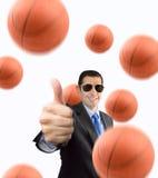Gradisco la pallacanestro Fotografia Stock