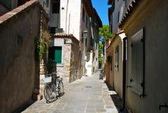 Grado-alte Stadt, Italien Stockfotos