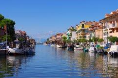 Grado canal Stock Image