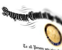 Grado de ley aislado Imagen de archivo