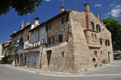 Grado, Friuli Venezia Giulia, Ιταλία Άποψη οδών Στοκ Εικόνες