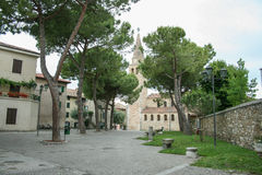 Grado italia. View to city grado, italia. architecture Stock Photo