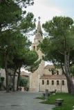 Grado italia. View to city grado, italia. architecture Stock Images