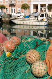 Grado, Italy: Fishing boats Royalty Free Stock Images