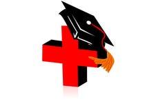 Grado médico Foto de archivo libre de regalías