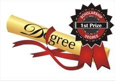 Grado y premio libre illustration