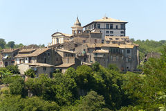 Gradoli (Lazio, Italien) Lizenzfreie Stockfotos