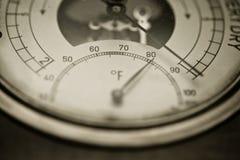 Grados de Fahrenheit Imagen de archivo